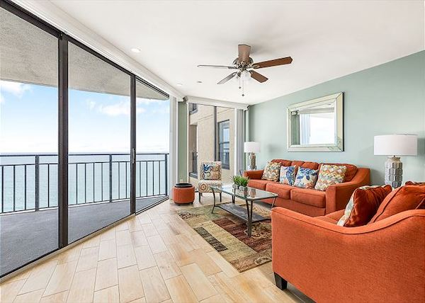 Oceanfront views in a Murrells Inlet vacation rental