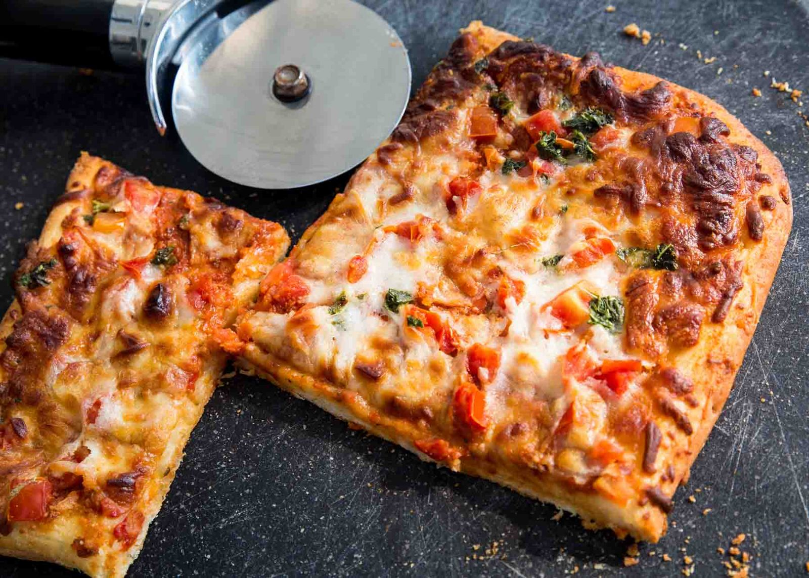 Sicilian square pizza in South Carolina