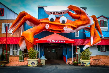 Giant Crab Seafood Restaurant Myrtle Beach Restaurants